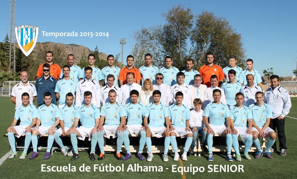 10 EF ALHAMA equipo SENIOR 2013-2014