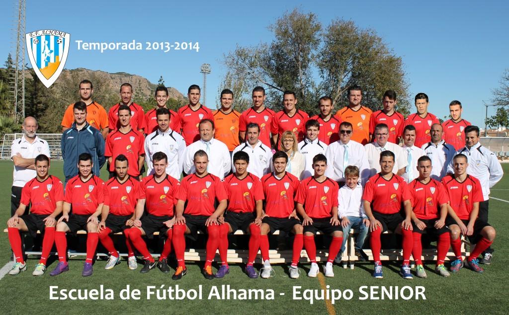 11 EF ALHAMA equipo SENIOR 2013-2014