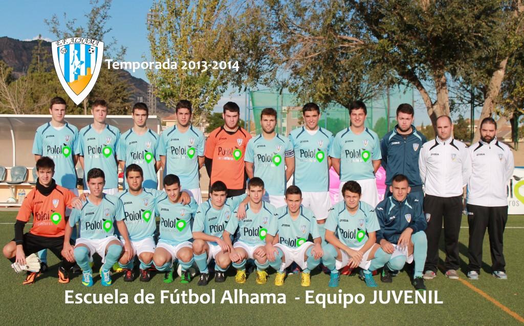 20 EF ALHAMA equipo JUVENIL 2013-2014