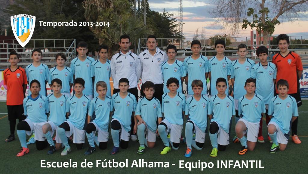 50 EF ALHAMA equipo INFANTIL 2013-2014