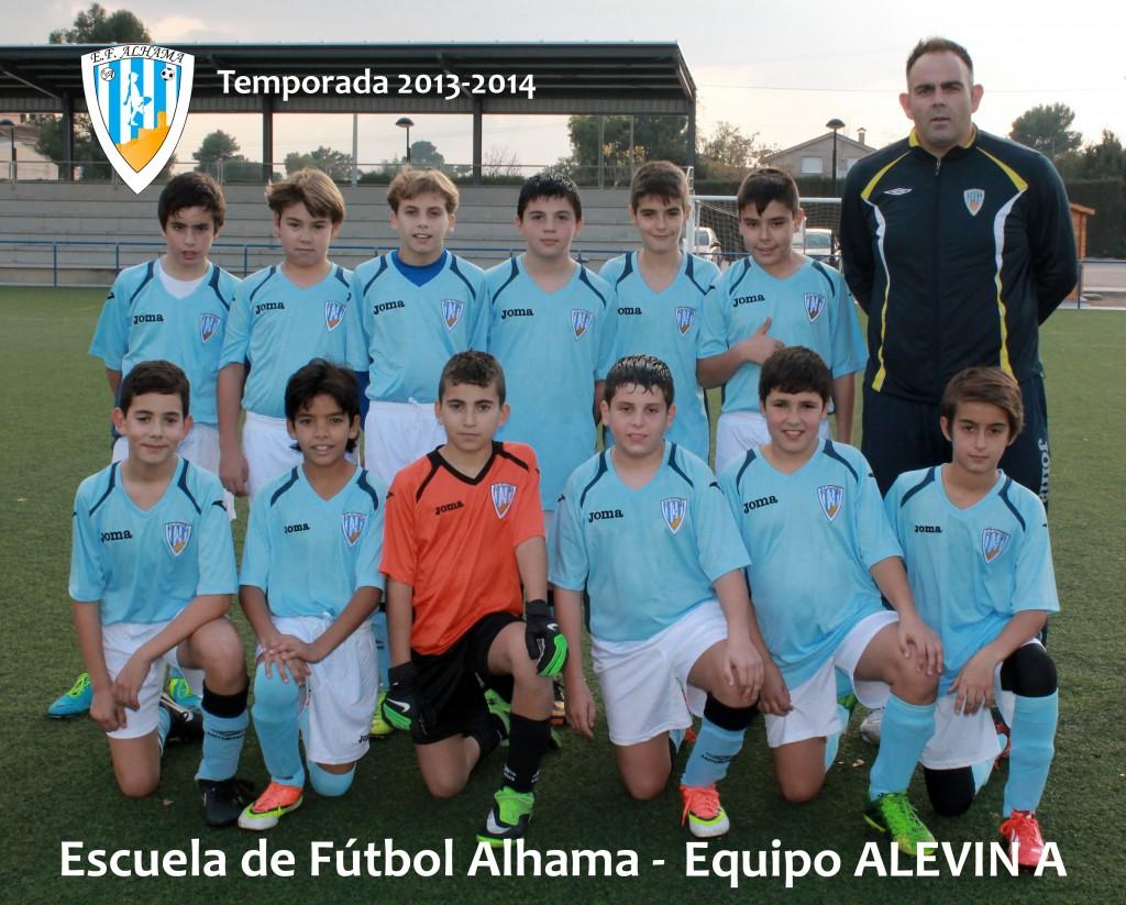 60 EF ALHAMA equipo ALEVIN A 2013-2014