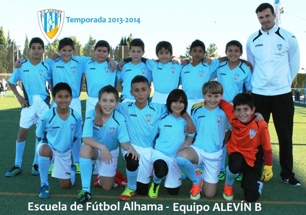 70 EF ALHAMA equipo ALEVIN B 2013-2014