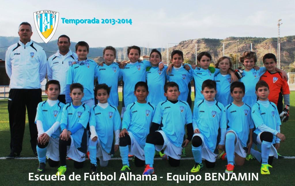80 EF ALHAMA equipo BENJAMIN 2013-2014