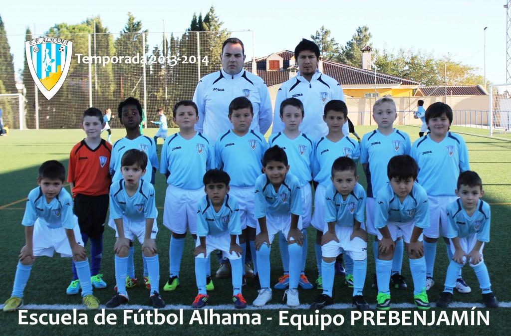 90 EF ALHAMA equipo PREBENJAMIN 2013-2014