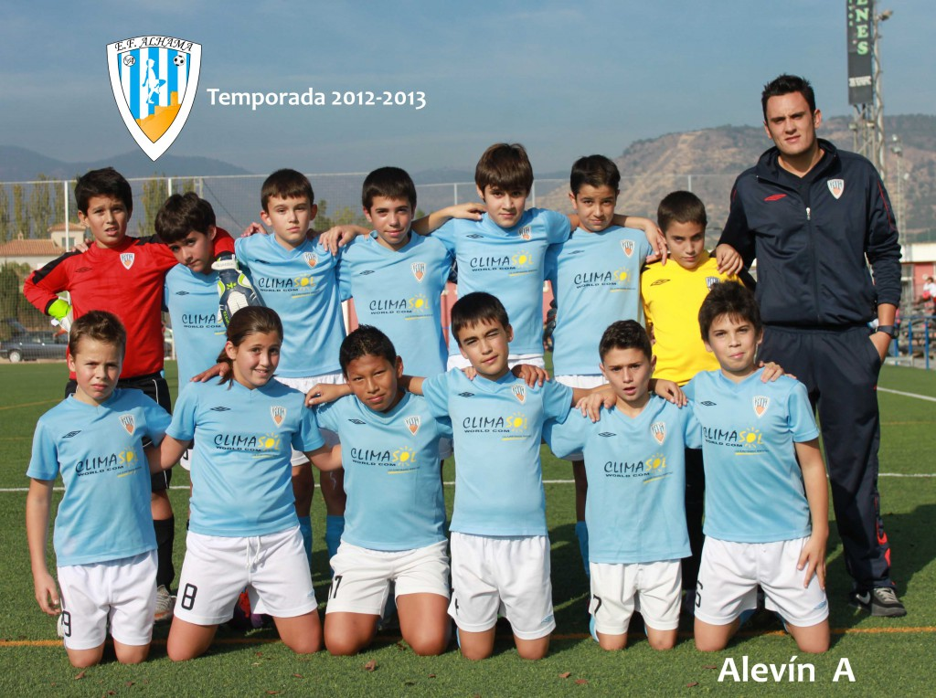 Alevin A 2012-2013 baja