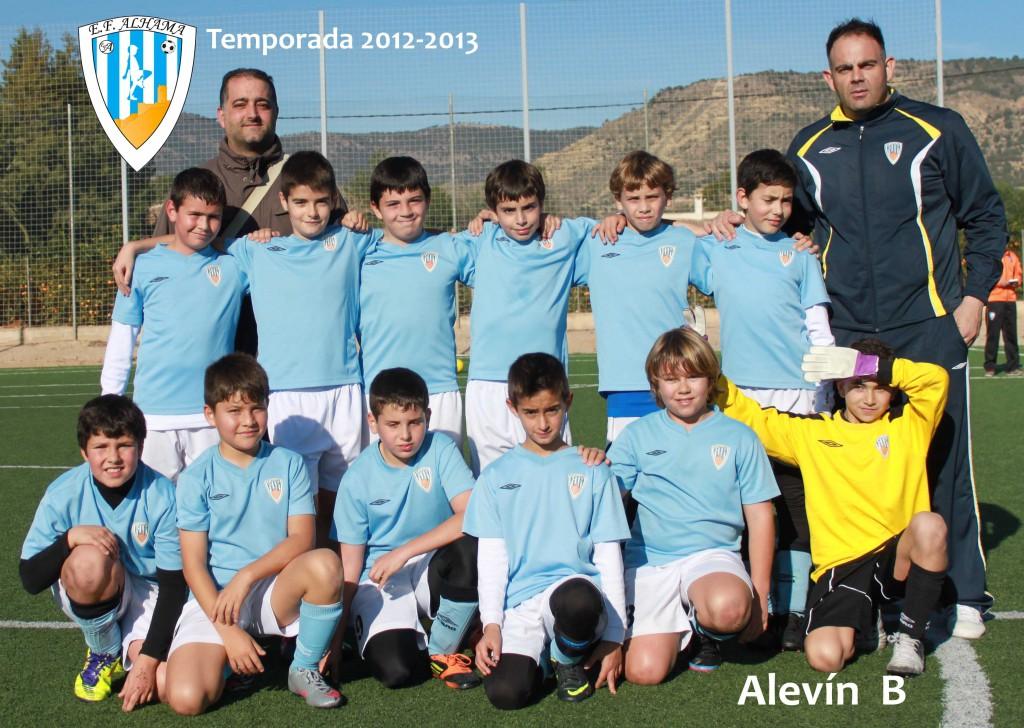 Alevin B 2012-2013 baja