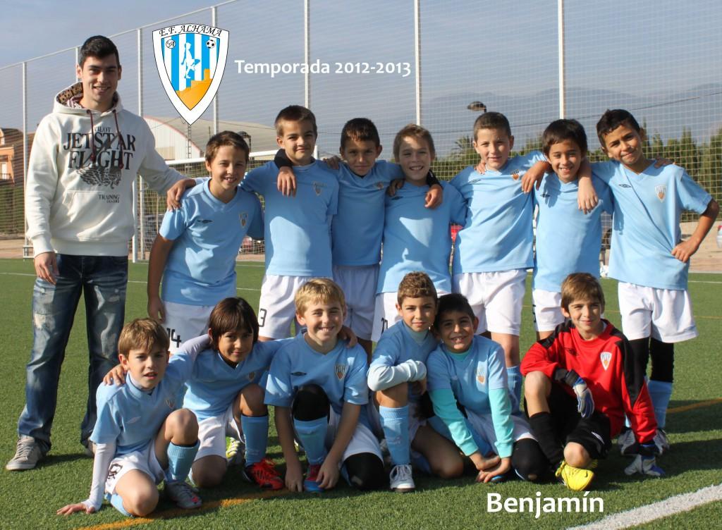 Benjamin 2012-2013 baja