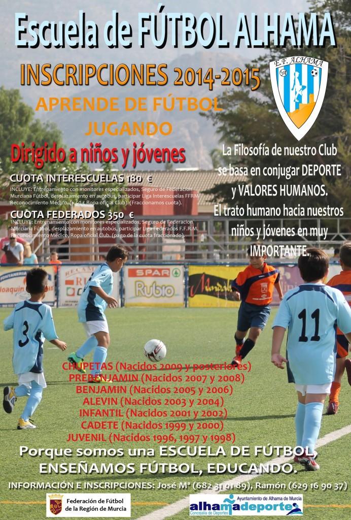 Cartel Escuela 2014-2015