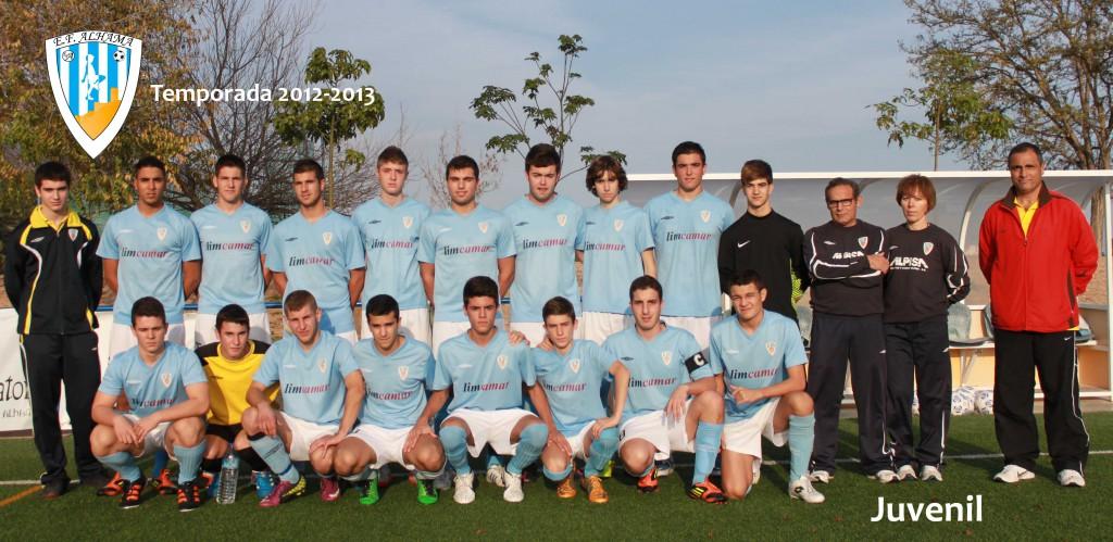 Juvenil 2012-2013 baja