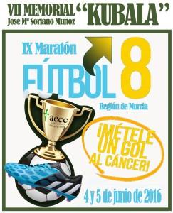 LOGO IX Maratón Fútbol 8 2016