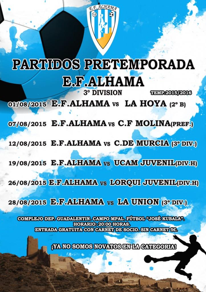 cartel PARTIDOS PRETEMPORADA 3º DIVISION copia